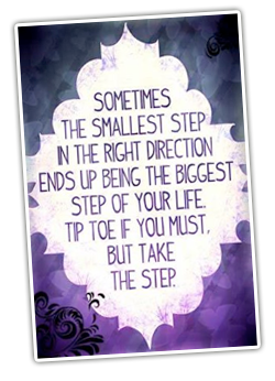 smallest-step-in-right-direction